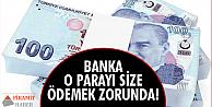 Bu sefer bankalar aleyhine!