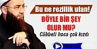 Cübbeli Ahmet Hoca çok kızdı! İZLE