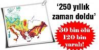 Deprem riski 2050'ye kadar yüzde 50