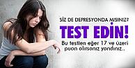 Depresyonunuzu test edin!