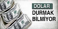 Dolar 2.73'ü gördü!