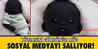 Dünyanın en siyah bebeği!