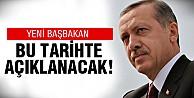 Erdoğan tarih verdi!