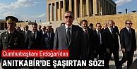 Erdoğan'dan şaşırtan söz!