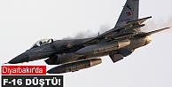 F-16 piste çakıldı!