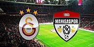 Galatasaray-Manisaspor maçının ilk 11'leri açıklandı!