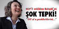 HDP'li vekilden olay tweet!