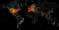 İşte Türkiye dahil interneti en çok kullanan ülkeler...