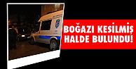 İzmir'de esrarengiz cinayet!