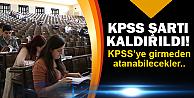 KPSS'de flaş değişiklik!