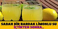 Limon suyunun inanilmaz faydalari