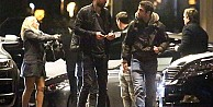 Messi, Fabregas, Pique buluşması