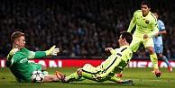 Messi'den  Joe Hart'a övgü dolu sözler