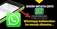 Telefonunuza bu mesaj gelirse aman dikkat!