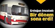 Toplu taşımada flaş değişiklik!