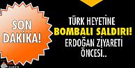 Türk heyetine saldırı!