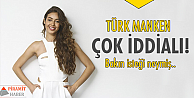 Türk mankenin iddiası büyük!