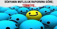 Türkiye mutluluk sıralamasında..