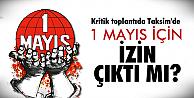 Vasip Şahin, Taksim için ne dedi?