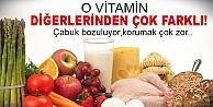 Vitamin ailesinin en hassas üyesi!
