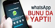 Whatsapp bunu da başardı!