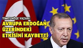 Avrupa Birliği Erdoğan üzerindeki etkisini...