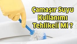 Temizlikte Çamaşır Suyu Kullanmak Tehlikeli...