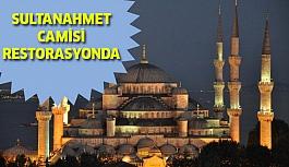 Sultanahmet Camisi Restorasyonda !