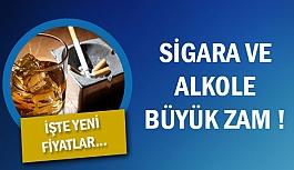 Sigara Ve Alkole Büyük Zam !