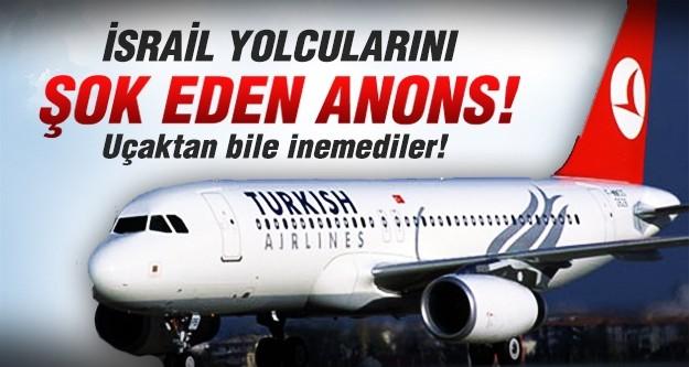 THY uçağı iran'a indi, İsrailli yolcular büyük korku yaşadı