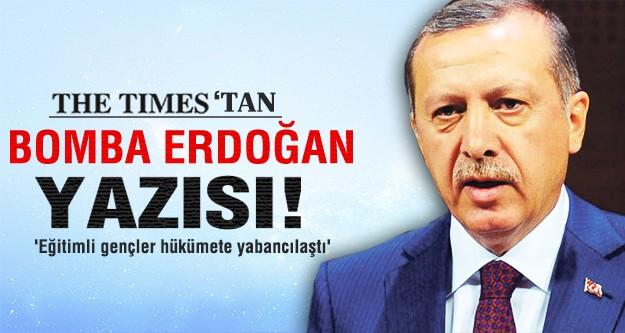 TIMES'tan provokasyon gibi Erdoğan yazısı