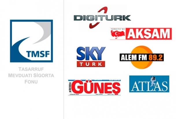 TMSF Digiturk,Skytürk,Güneş ve Akşam ile Alem FM'e de el koydu