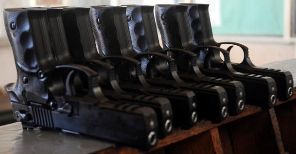 Trabzon'dan ABD'ye tabanca ihracatı