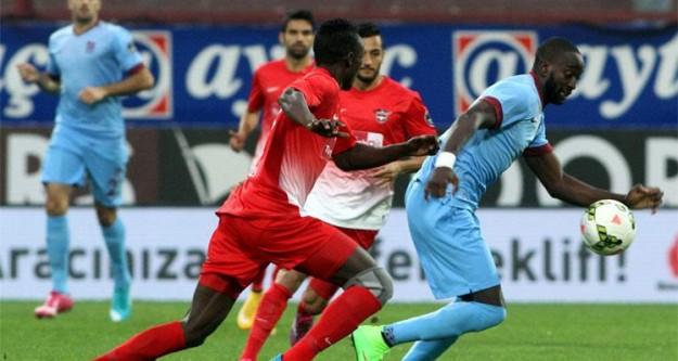 Trabzonspor-Gençlerbirliği maçında gol yamuru!