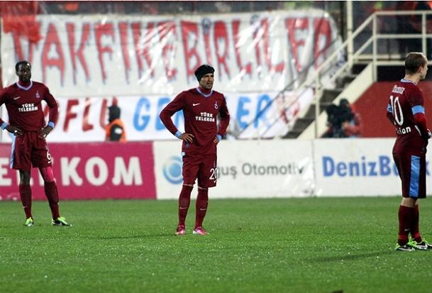 Trabzonspor'dan kötü performans