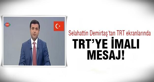 TRT tarihine geçecek konuşma!