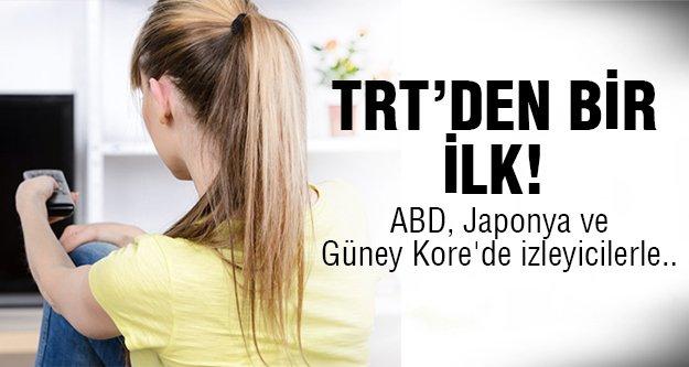 TRT'den tarihi adım!