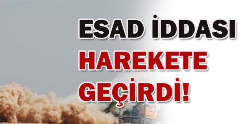 TSK'yı harekete geçiren Esad iddiası!