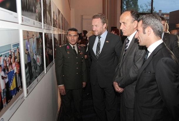 Türk askerinin Bosna Hersek'e gelişinin 20. yılı AA fotoğraflarında