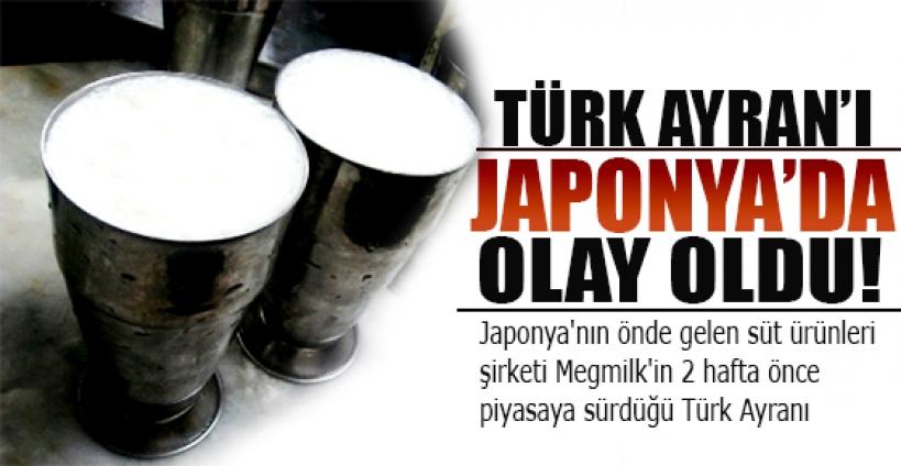 Türk ayranı Japonya'da olay oldu