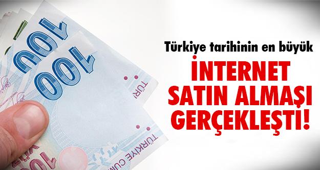 Türk dev şirketi rekor fiyata gitti!
