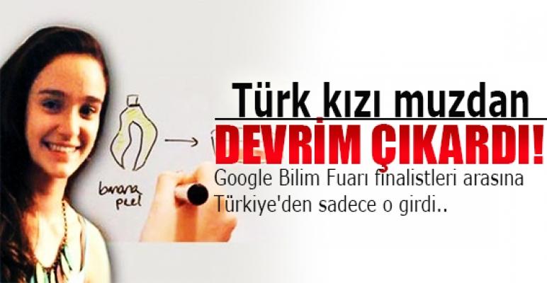 Türk kızı muzdan devrim çıkardı!