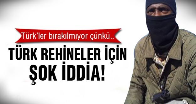 Türk rehineler IŞİD'e..