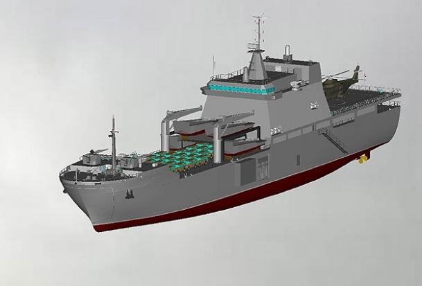 Türk yapımı tank çıkarma gemileri geliyor