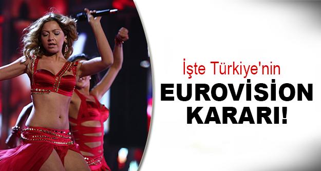 Türkiye Eurovision'a katılıyor mu?