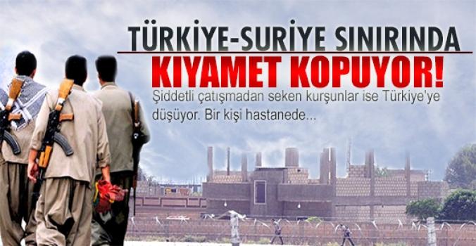 Türkiye-Suriye sınırında çatışmalar sürüyor!