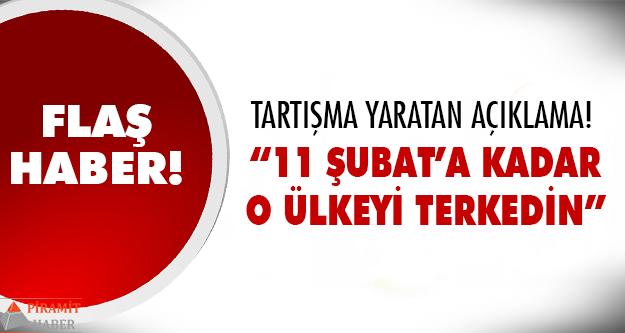 Türkiye'den yayın yapan kanal duyurdu!