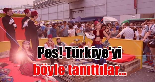 Fransa'da Türkiye'yi böyle tanıttılar