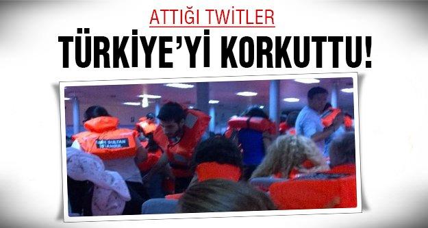 Türkiye'yi korkutan işte o twitler!
