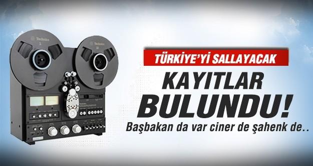 Türkiye'yi sallayacak kayıtlar bulundu